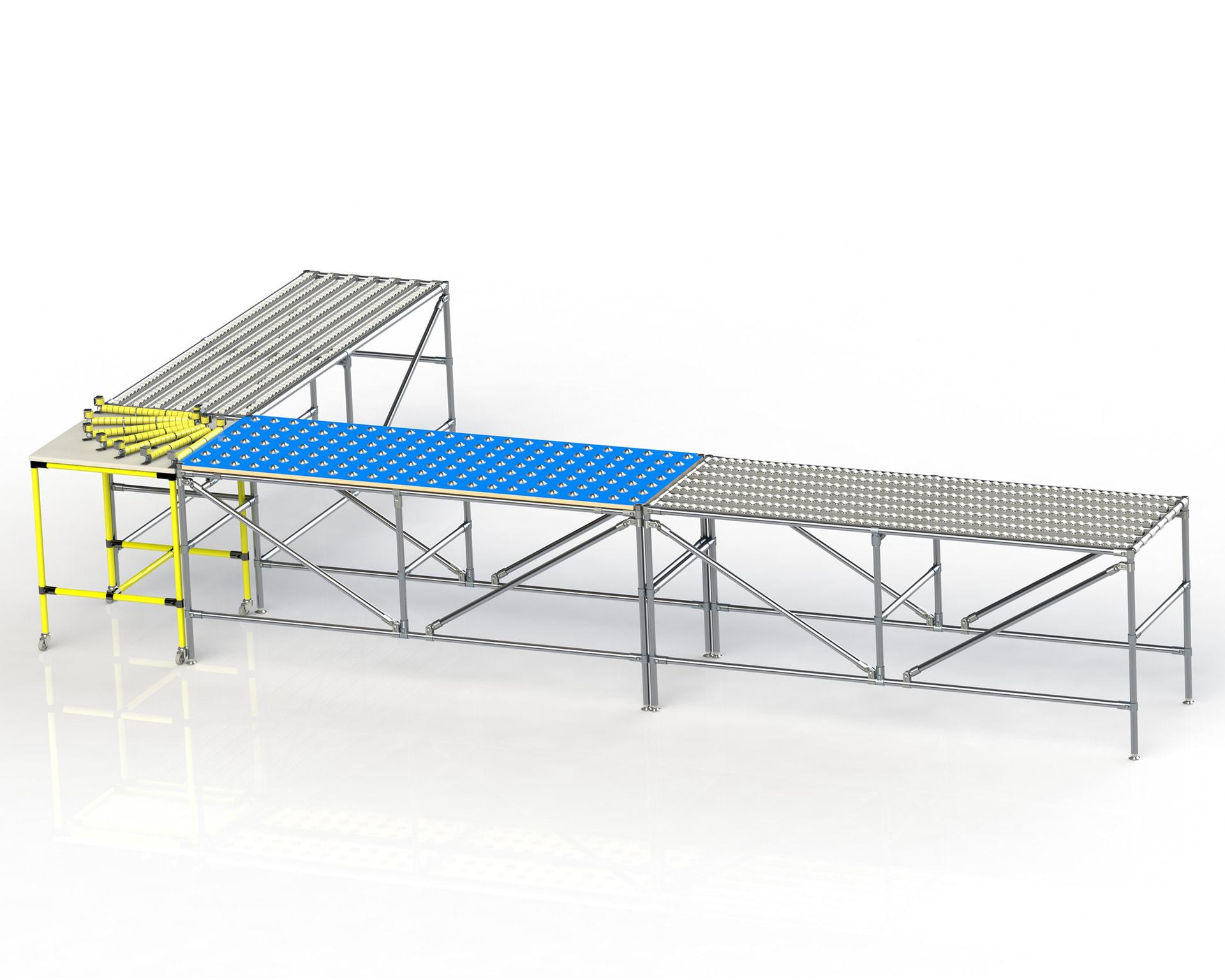 PEK3 Easytube Application Roller Conveyor