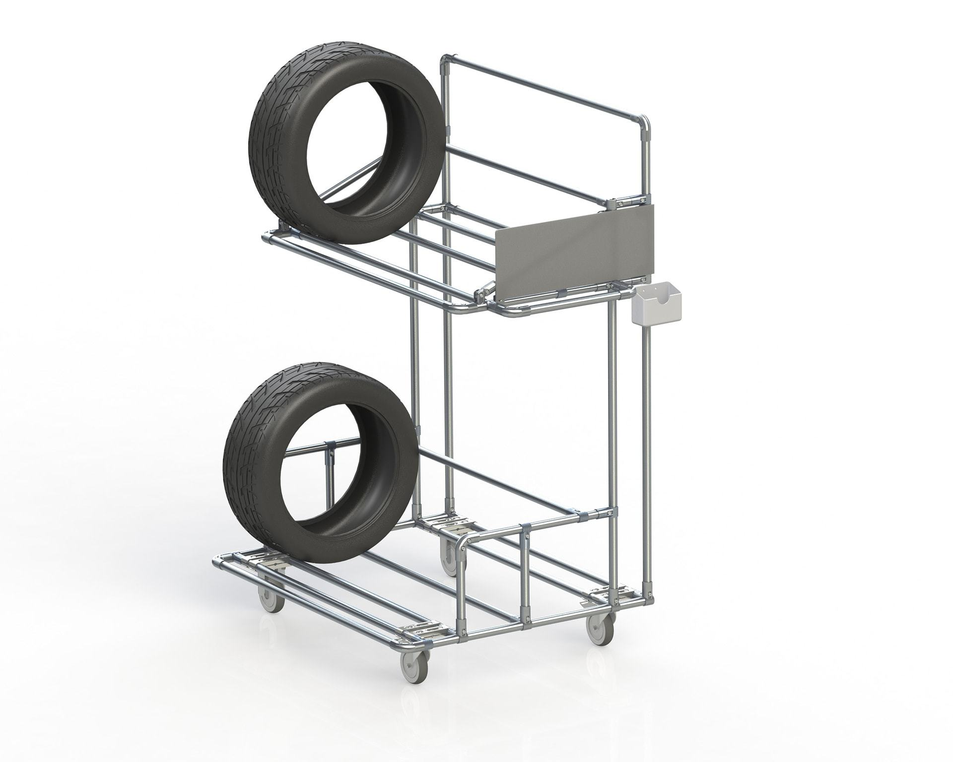 PEK3 Easytube Application Tire Rack