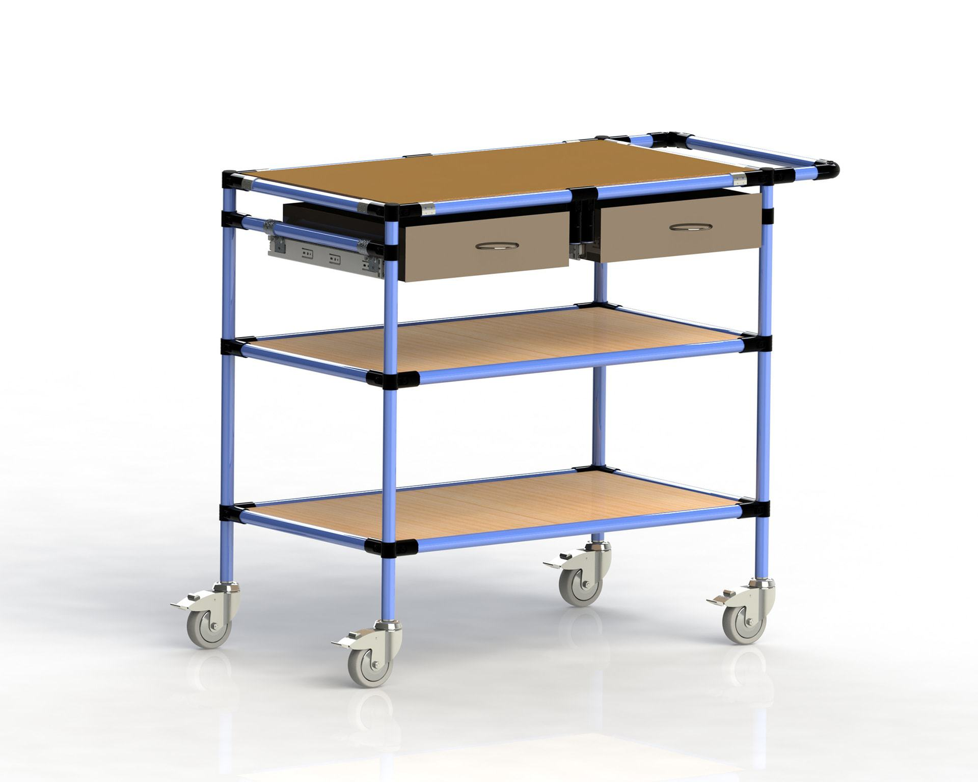 PEK3 Easytube Application Trolley With Drawer