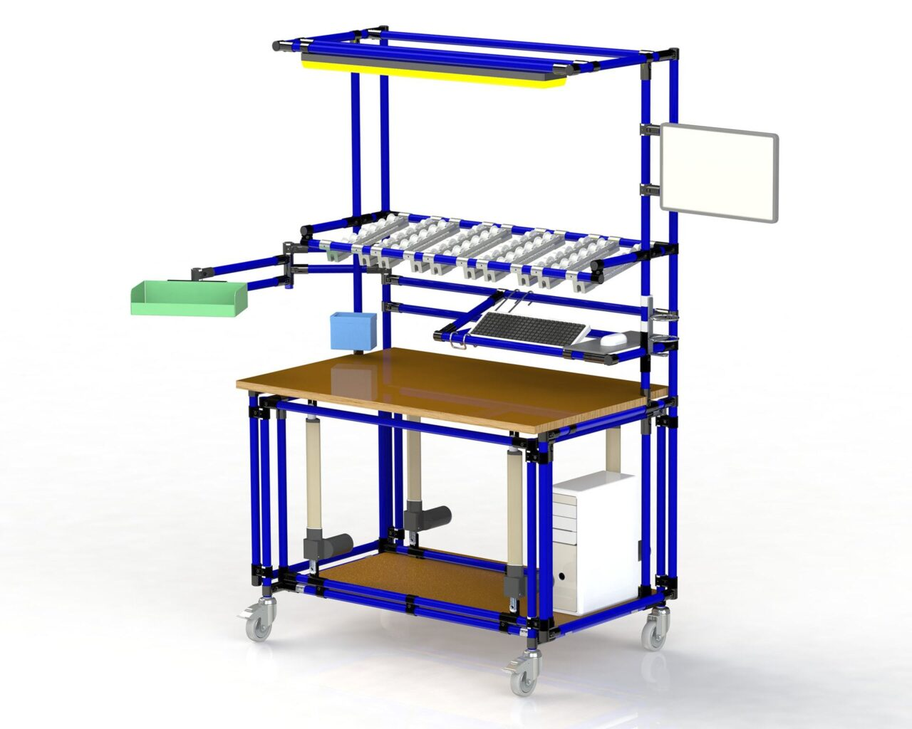 PEK3 Easytube Application Working Station with Height Adjustment