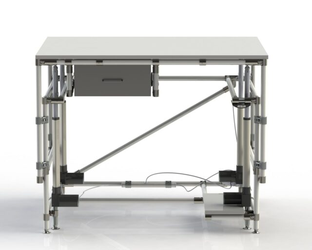 PEK3 Easytube Height Adjustment Table Extend