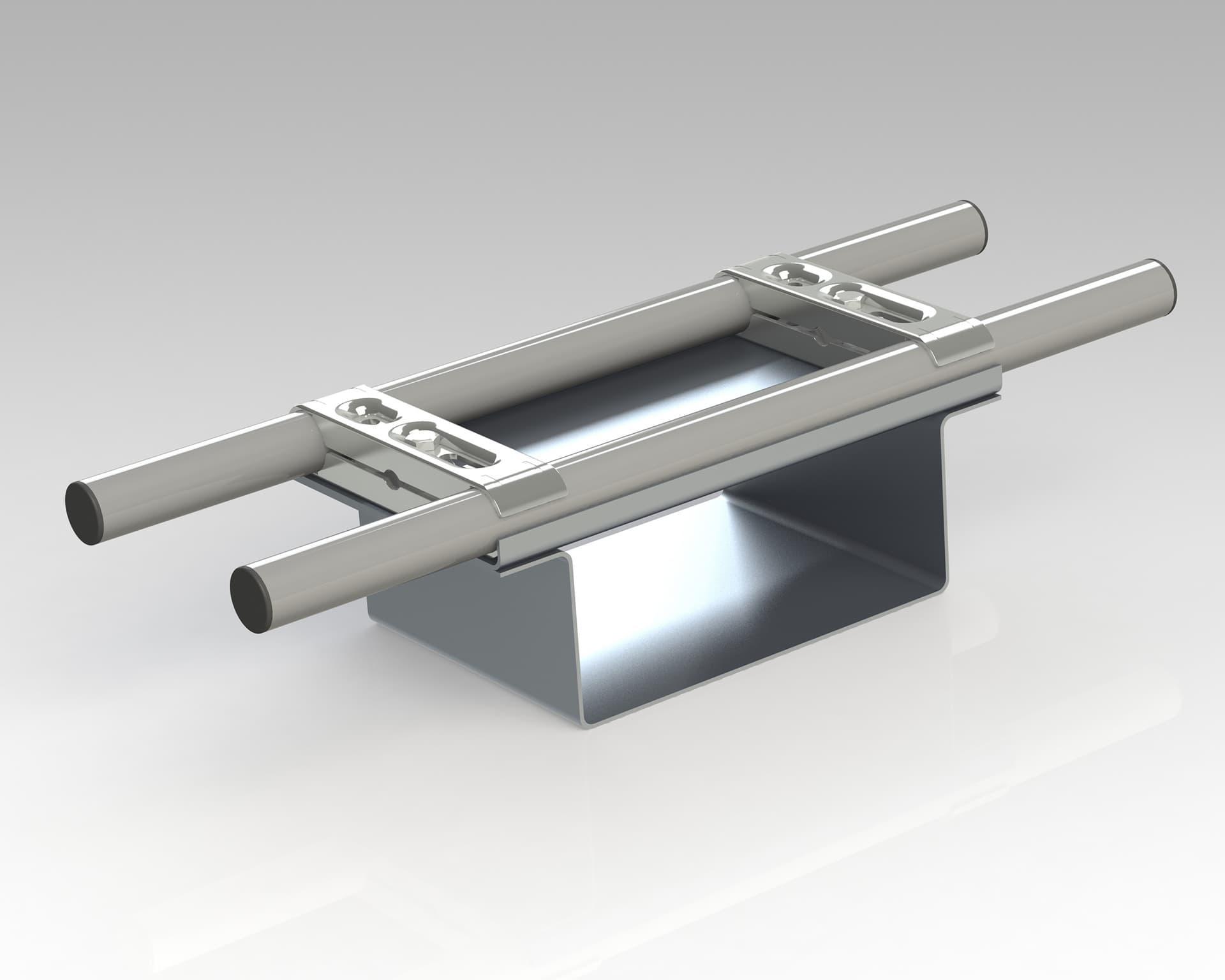 PEK3 Easytube Metal Accessories F-200 WH