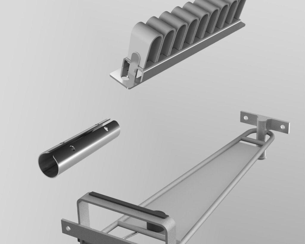 Accessoires métalliques