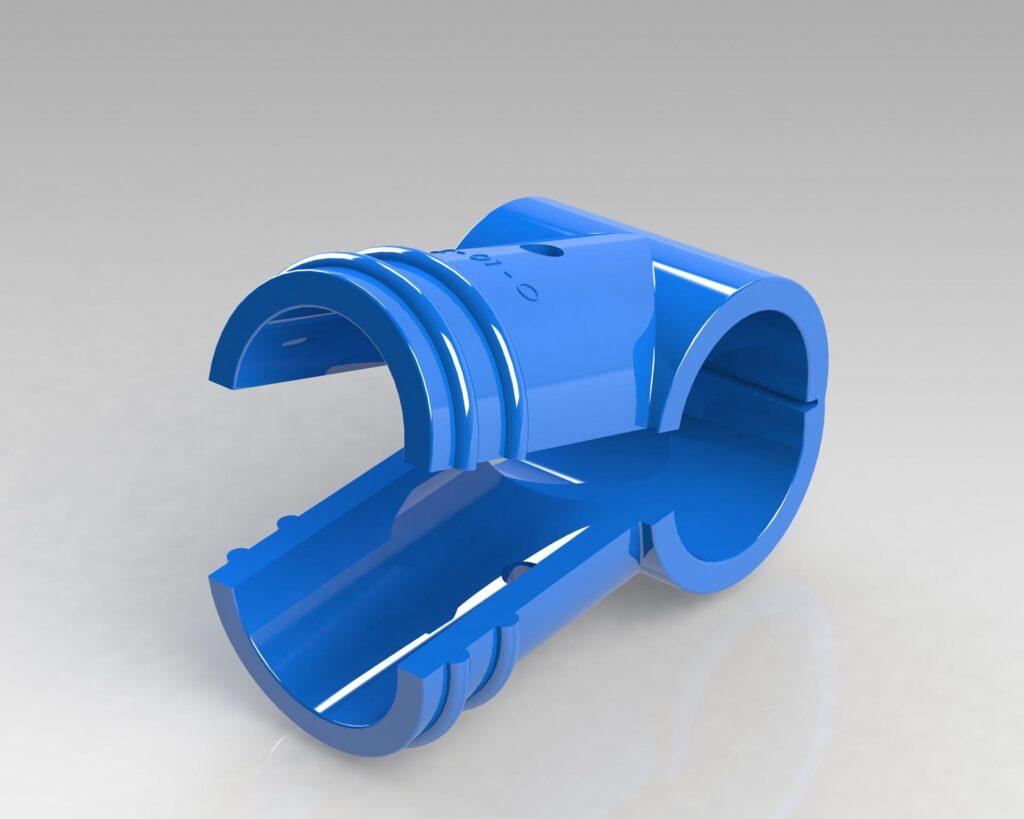 PEK3 Easytube Pipe plus Joints Protectors AC 01 O