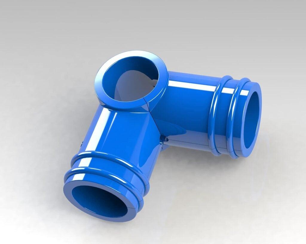 PEK3 Easytube Pipe plus Joints Protectors AC-02-O