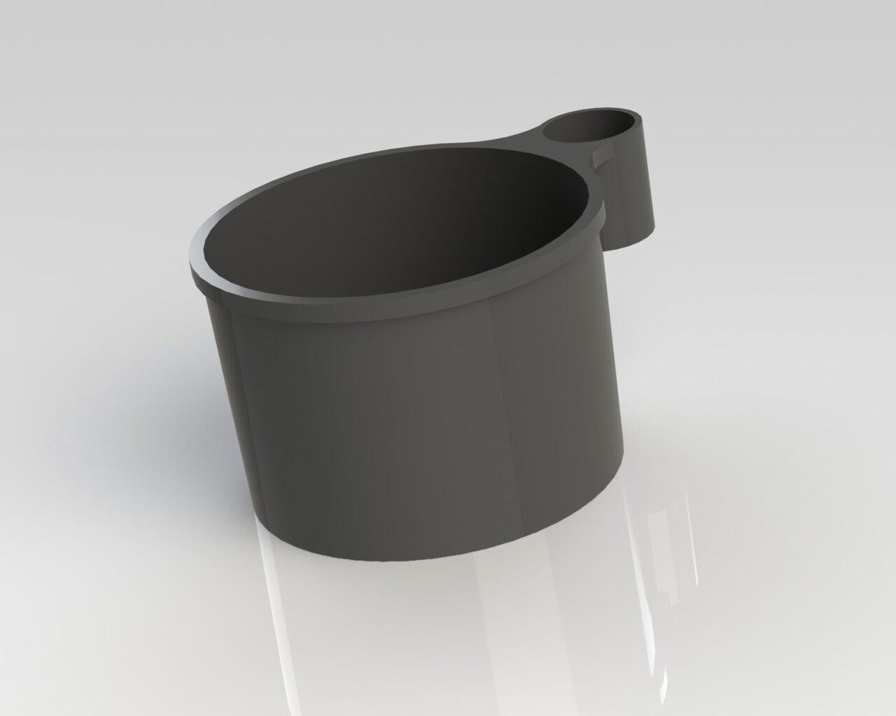 PEK3 Easytube Plastic Accessories CUP 10 BK 1