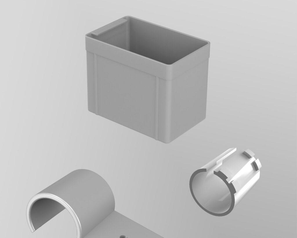 Accessoires en plastique