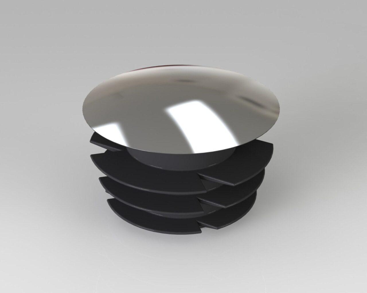 PEK3 Easytube caps and bushings nuts CAP-01-CR