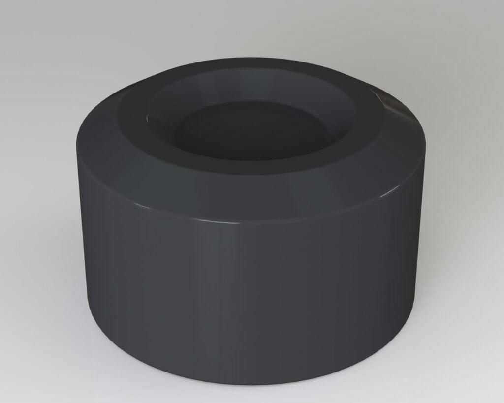 PEK3 Easytube caps and bushings nuts CAP-03-EB