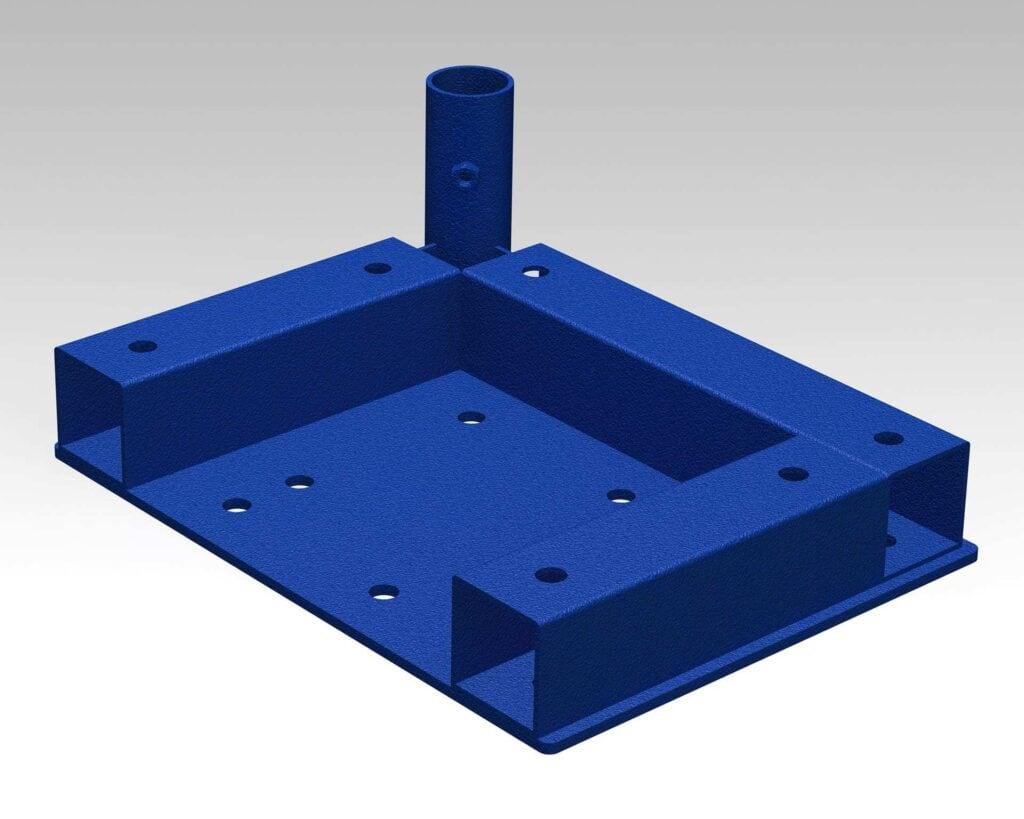 PEK3 Easytube square frames SQF-CP-L