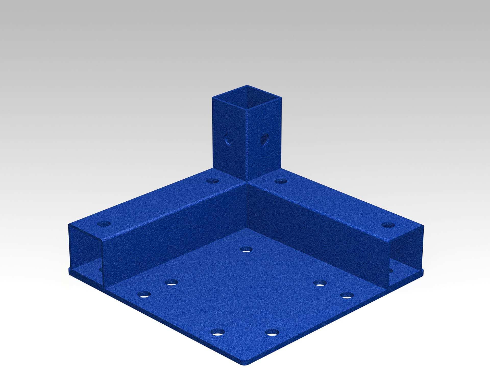 PEK3 Easytube square frames SQF L