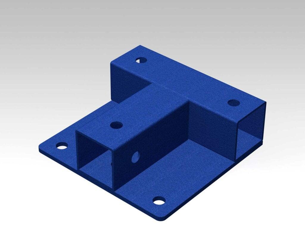 PEK3 Easytube square frames SQF-T